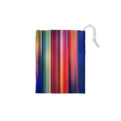 Texture Lines Vertical Lines Drawstring Pouches (xs)  by Simbadda