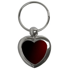 Abstract Dark Simple Red Key Chains (heart)  by Simbadda