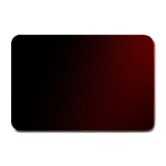 Abstract Dark Simple Red Plate Mats by Simbadda
