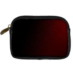Abstract Dark Simple Red Digital Camera Cases by Simbadda