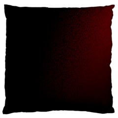 Abstract Dark Simple Red Large Cushion Case (One Side)