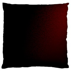Abstract Dark Simple Red Large Flano Cushion Case (one Side) by Simbadda