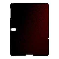 Abstract Dark Simple Red Samsung Galaxy Tab S (10 5 ) Hardshell Case  by Simbadda