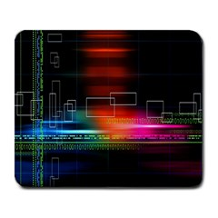 Abstract Binary Large Mousepads by Simbadda