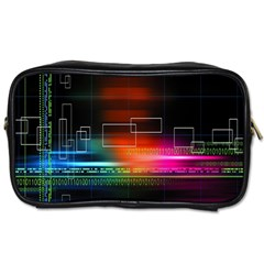 Abstract Binary Toiletries Bags by Simbadda