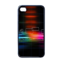 Abstract Binary Apple Iphone 4 Case (black) by Simbadda