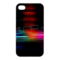 Abstract Binary Apple Iphone 4/4s Hardshell Case by Simbadda