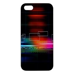 Abstract Binary Iphone 5s/ Se Premium Hardshell Case by Simbadda