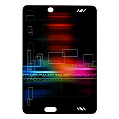 Abstract Binary Amazon Kindle Fire Hd (2013) Hardshell Case by Simbadda