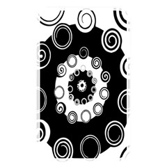 Fluctuation Hole Black White Circle Memory Card Reader by Alisyart