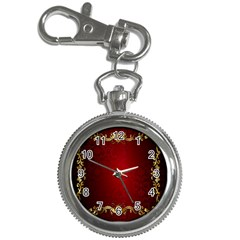 3d Red Abstract Pattern Key Chain Watches by Simbadda