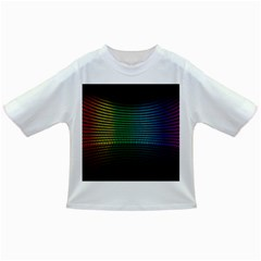 Abstract Multicolor Rainbows Circles Infant/toddler T Shirts