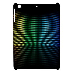 Abstract Multicolor Rainbows Circles Apple iPad Mini Hardshell Case