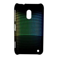 Abstract Multicolor Rainbows Circles Nokia Lumia 620 by Simbadda