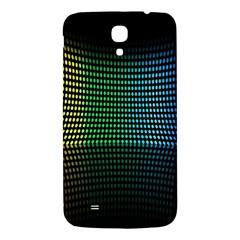 Abstract Multicolor Rainbows Circles Samsung Galaxy Mega I9200 Hardshell Back Case by Simbadda