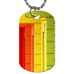 Abstract Minimalism Architecture Dog Tag (one Side) by Simbadda