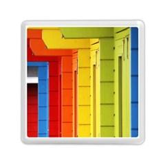 Abstract Minimalism Architecture Memory Card Reader (square)  by Simbadda