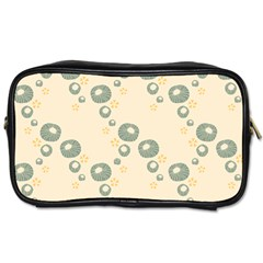 Flower Floral Pink Toiletries Bags by Alisyart