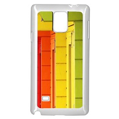 Abstract Minimalism Architecture Samsung Galaxy Note 4 Case (white) by Simbadda