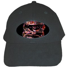 Hamburgers Digital Art Colorful Black Cap by Simbadda
