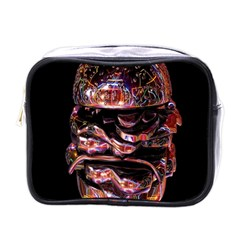 Hamburgers Digital Art Colorful Mini Toiletries Bags by Simbadda