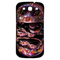 Hamburgers Digital Art Colorful Samsung Galaxy S3 S Iii Classic Hardshell Back Case by Simbadda