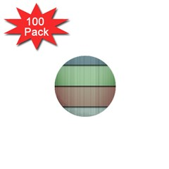 Lines Stripes Texture Colorful 1  Mini Buttons (100 Pack)  by Simbadda