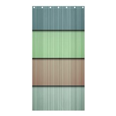 Lines Stripes Texture Colorful Shower Curtain 36  X 72  (stall)  by Simbadda