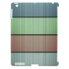 Lines Stripes Texture Colorful Apple Ipad 3/4 Hardshell Case (compatible With Smart Cover) by Simbadda