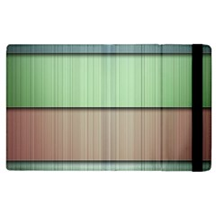 Lines Stripes Texture Colorful Apple Ipad 3/4 Flip Case by Simbadda