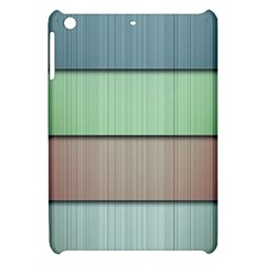 Lines Stripes Texture Colorful Apple Ipad Mini Hardshell Case by Simbadda