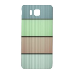 Lines Stripes Texture Colorful Samsung Galaxy Alpha Hardshell Back Case