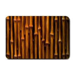Abstract Bamboo Small Doormat  by Simbadda