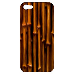 Abstract Bamboo Apple Iphone 5 Hardshell Case by Simbadda