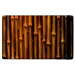 Abstract Bamboo Apple Ipad 2 Flip Case by Simbadda