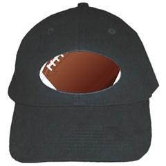 Football American Sport Ball Black Cap by Alisyart