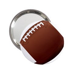 Football American Sport Ball 2 25  Handbag Mirrors by Alisyart
