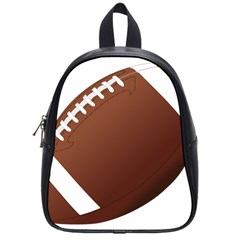 Football American Sport Ball School Bags (small)  by Alisyart