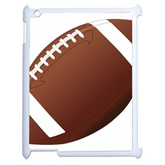 Football American Sport Ball Apple Ipad 2 Case (white) by Alisyart