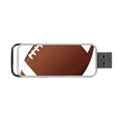 Football American Sport Ball Portable Usb Flash (one Side) by Alisyart