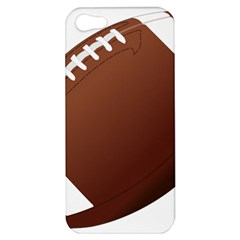 Football American Sport Ball Apple Iphone 5 Hardshell Case by Alisyart