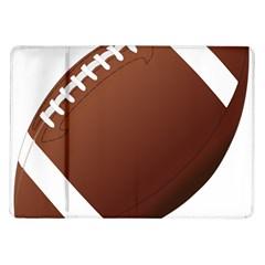Football American Sport Ball Samsung Galaxy Tab 10 1  P7500 Flip Case by Alisyart