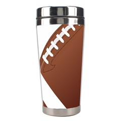 Football American Sport Ball Stainless Steel Travel Tumblers by Alisyart