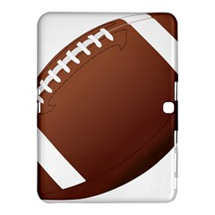 Football American Sport Ball Samsung Galaxy Tab 4 (10 1 ) Hardshell Case  by Alisyart
