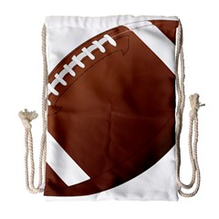 Football American Sport Ball Drawstring Bag (large) by Alisyart
