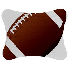 Football American Sport Ball Jigsaw Puzzle Photo Stand (bow) by Alisyart