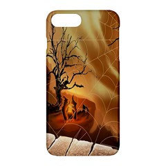 Digital Art Nature Spider Witch Spiderwebs Bricks Window Trees Fire Boiler Cliff Rock Apple Iphone 7 Plus Hardshell Case by Simbadda
