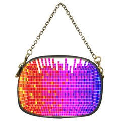 Square Spectrum Abstract Chain Purses (one Side)  by Simbadda