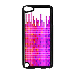 Square Spectrum Abstract Apple Ipod Touch 5 Case (black) by Simbadda