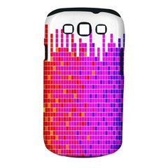 Square Spectrum Abstract Samsung Galaxy S Iii Classic Hardshell Case (pc+silicone) by Simbadda